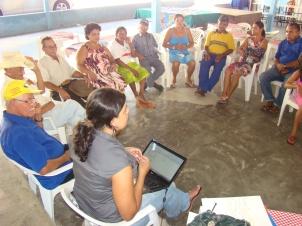 Reuniões mensais com os integrantes do Grupo