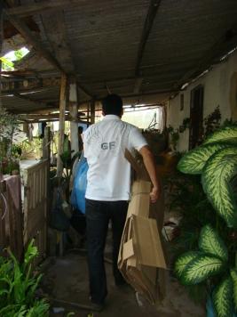 Agente social Valdick - colega de trabalho que colabora muito com o Projeto