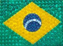 Bandeira criada pelos integrantes do Projeto e pelo Grupo Trocando Saberes, sob a orientação de Valdick carvalho e Deni Féo