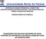 Monografia Rozana Fonseca
