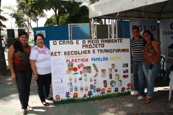 Exposição na feira de Meio Ambiente
