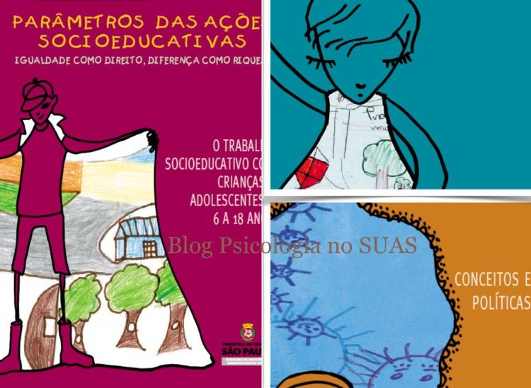Parametros das ações socioeducativas - Blog Psicologia no SUAS