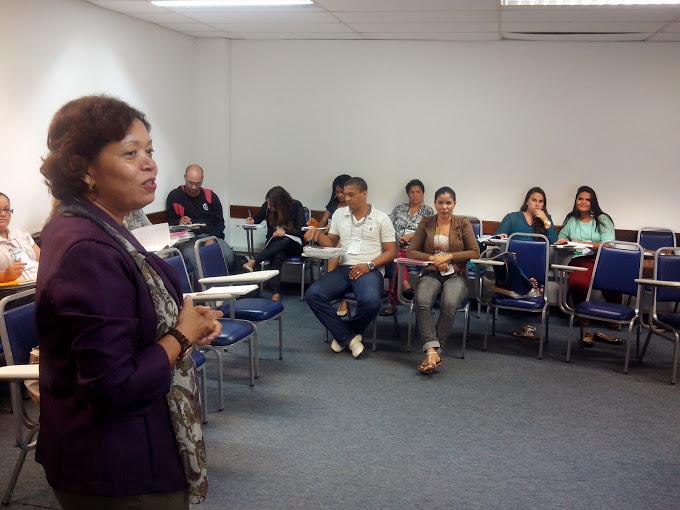 Instrutora Norma - equipe SEDES