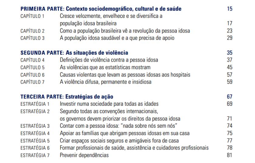 Manual de Enfrentamento à Violência contra a Pessoa Idosa