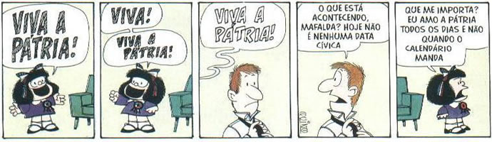 Mafalda e cidadania