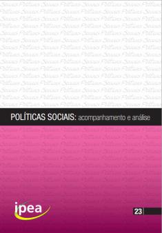 Políticas Sociais acompanhamento e analise IPEA