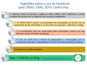 CRAS facebook uso