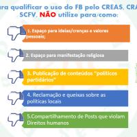 O uso das redes sociais pelos CRAS, CREAS e outras unidades do SUAS