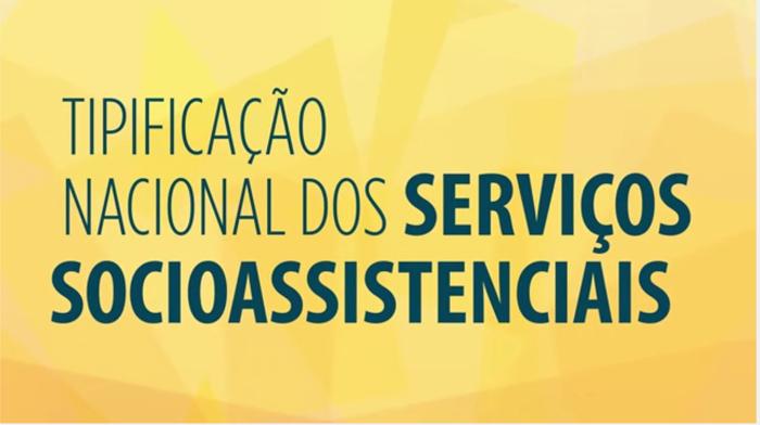 Síntese da Tipificação de Serviços Socioassistenciais em vídeo CEGOV –CapacitaSUAS
