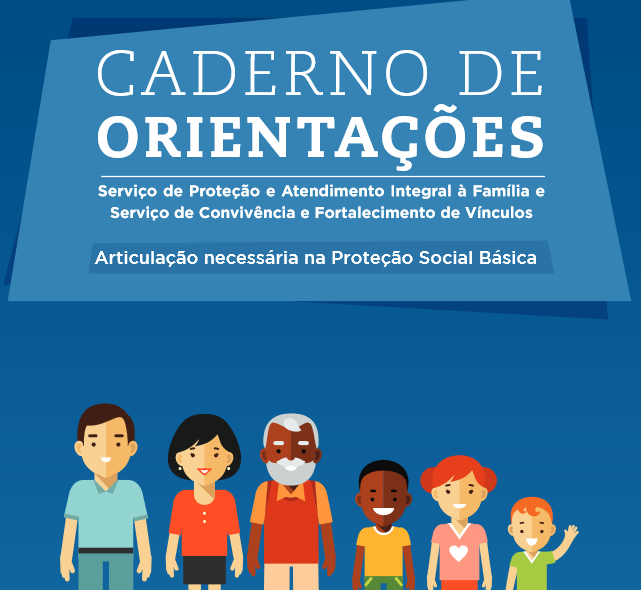 Caderno de Orientações PAIF e SCFV Imagem Rozana Blog Psicologia no SUAS