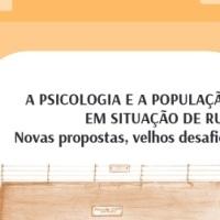 Cartilha sobre A Psicologia e a população em situação de rua