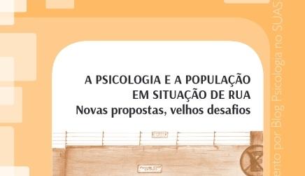 Cartilha sobre A Psicologia e a população em situação derua