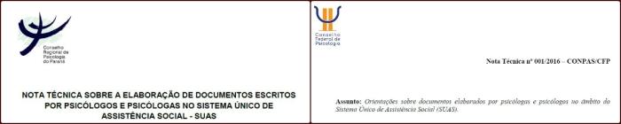 Produção de documentos nos serviços doSUAS
