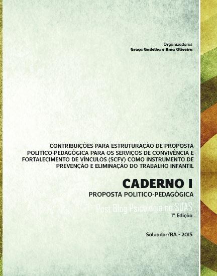 Caderno I Proposta pedagogica