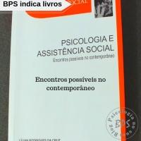 """Livros """"Políticas públicas e assistência social: Diálogo com as práticas psicológicas"""""""