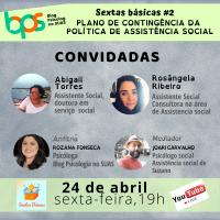 Plano de contingência na Assistência Social - Sextas Básicas -  #2