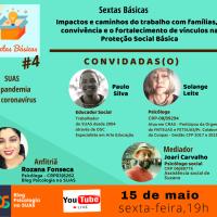 Impactos e caminhos do trabalho com famílias, a convivência e o fortalecimento de vínculos na proteção social básica - Sextas Básicas #04