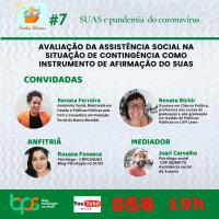 Avaliação da assistência social na situação de contingência como instrumento de afirmação do SUAS - Sextas Básicas #7
